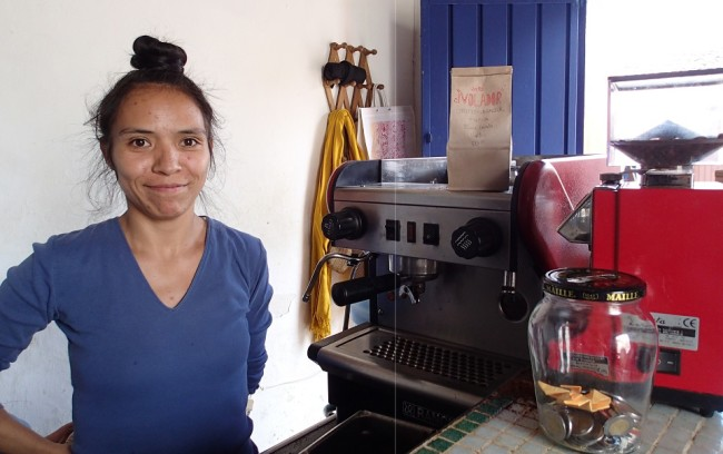 Nancy at Café El Volador