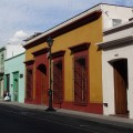 Street in the historical centre of Oaxaca