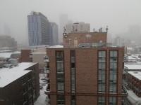 Gloomy winter day (Toronto)