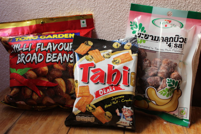 Interesting Thai snacks from the 7-11