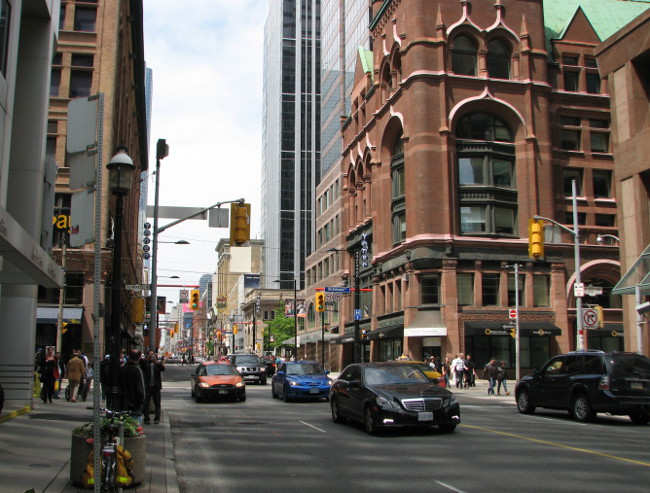 Yonge Street, Toronto's main north-south artery