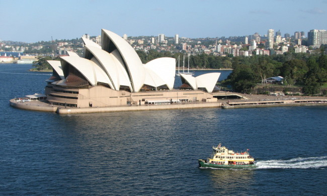 Ferry in Sydney Harbour