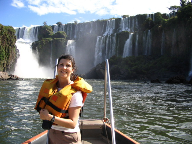 Iguazu, a couple of hours before the incident (Argentina)