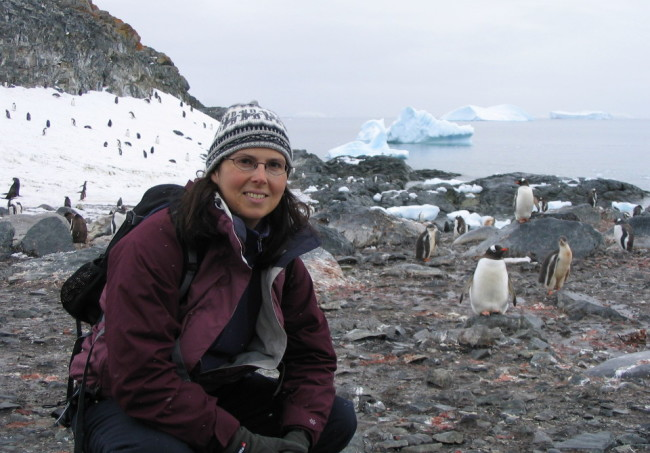 First day on the ground in Antarctica
