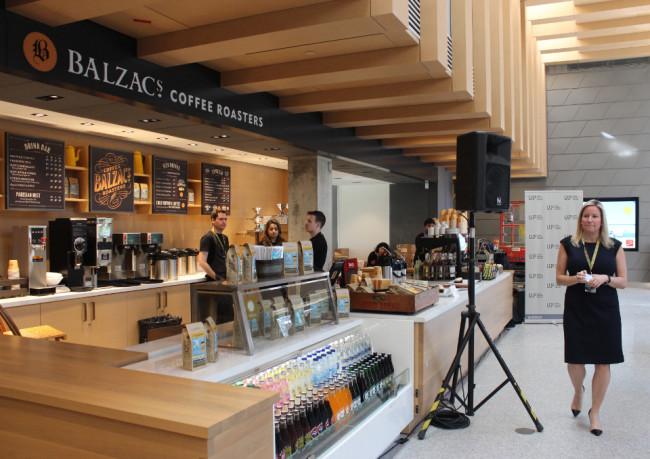 Balzac's makes great coffee
