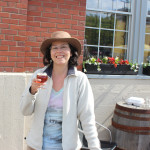 Me and my Sugar Maple beer sampler at Garrisson (Halifax)