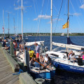 People partying on their boats (Halifax)