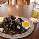 Mussels with garlic butter (Halifax)