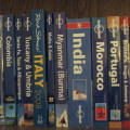 My travel guidebooks