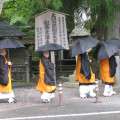 Japanese monks