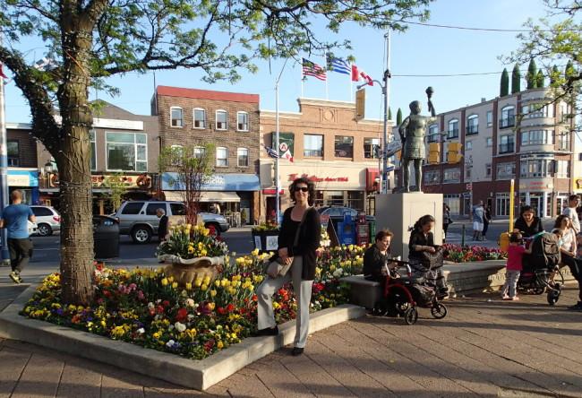 Alexander the Great Parkette, Toronto Greektown