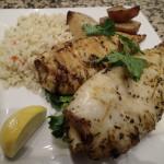 Grilled calamari, Ouzeri restaurant, Toronto