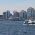 View of Halifax skyline from the Dartmouth ferry