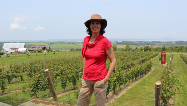 Me at Luckett Vineyards