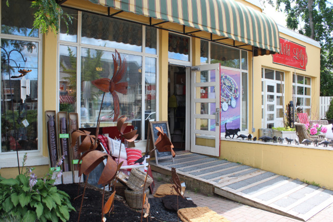 Wild Lily shop, Wolfville