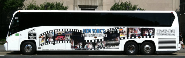 New York On Location Tour Bus