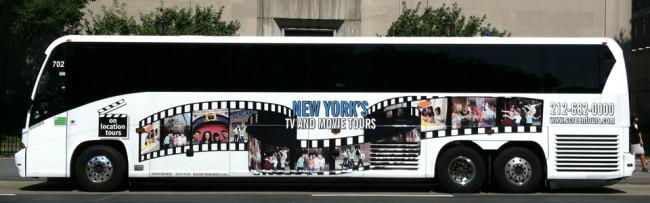 New York On Location Tour Bus