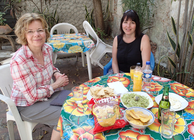Two solo women I met in Oaxaca (Mexico)