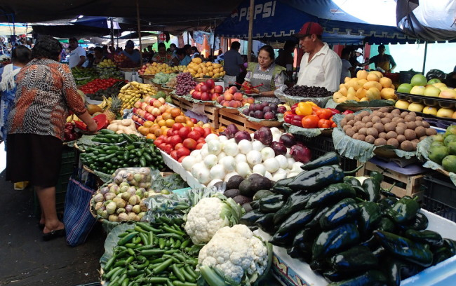 Popular day tours around Oaxaca include indigenous markets (Mexico)