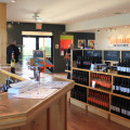 Sandbanks Estate Winery shop and sampling room (Prince Edward County)