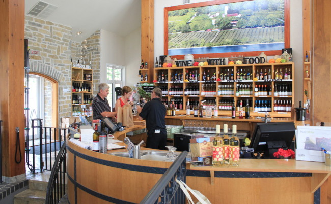 Inside Waupoos Estate Winery