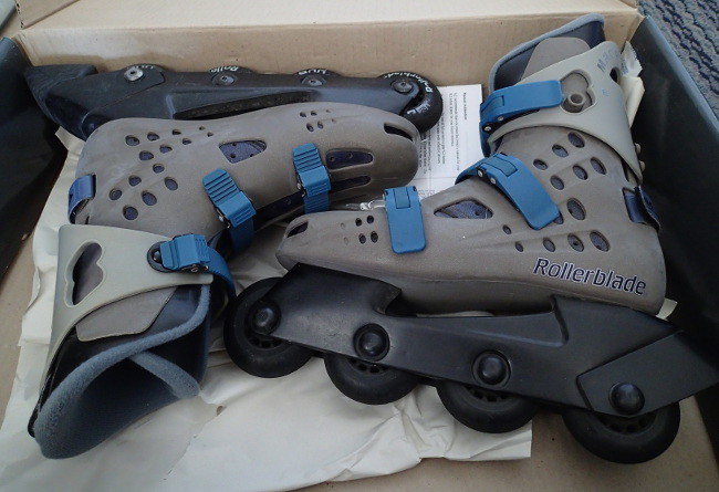 Old rollerblades