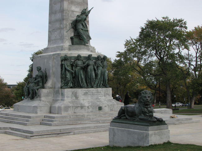 Monument to Sir George-Etienne Cartier, Montreal