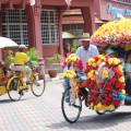 Rickshaw in Melaka, Malaysia