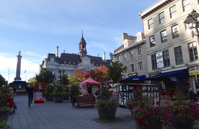 Place Jacques Cartier, Montreal