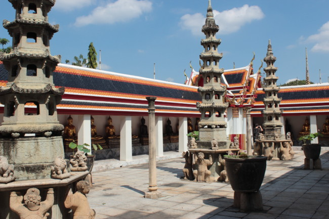 Wat Pho, Bangkok, Thailand (travel in November)