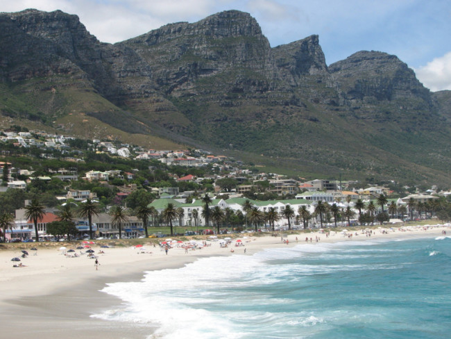 Camps Bay Beach, Cape Town, South Africa (travel in November)