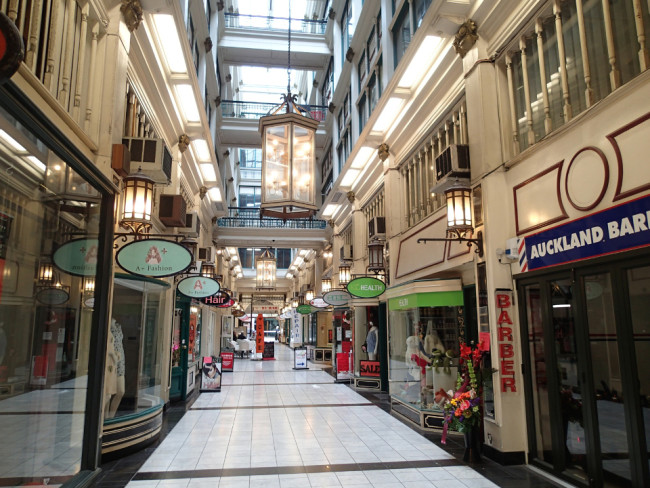 Shopping arcade (Auckland, New Zealand)