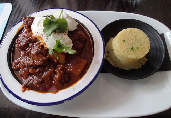 Couscous with lamb stew at Emporium (Napier, New Zealand)