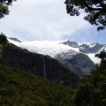 First close-up peek at the Rob Roy glacier