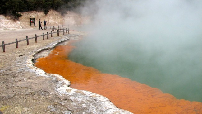 Champagne Pool at Wai-O-Tapu (New Zealand)