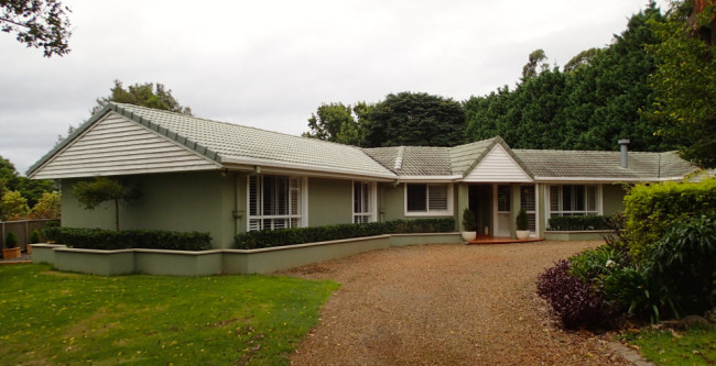 The house where I'm spending February (Tamborine Mountain)