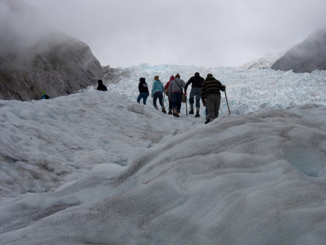 Hiking Fox Glacier (New Zealand)