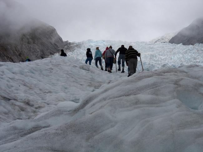 Hiking Fox Glacier (New Zealand)