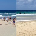 Gold Coast versus North Stradbroke Island