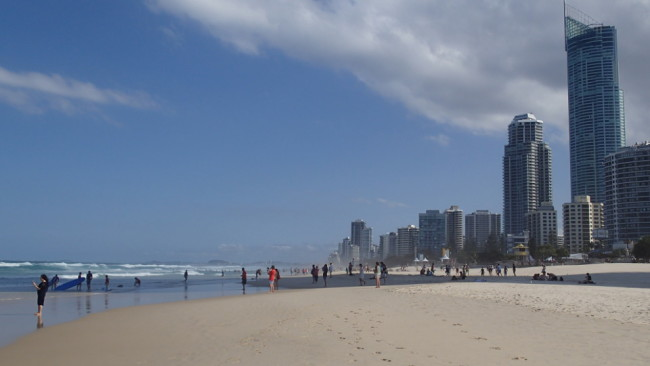 Surfers Paradise Beach (Gold Coast)