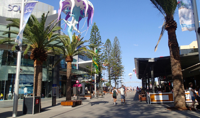 Outdoor Mall, Surfers Paradise (Gold Coast)