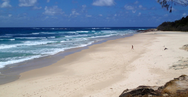 Deadmans Beach, North Stradbroke Island