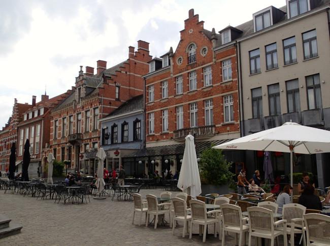 Tourist-free Herentals, Belgium
