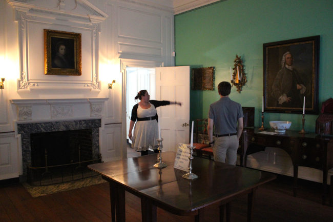 Inside Powel House, Philadelphia