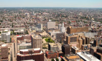 View from One Liberty Observation Deck, Philadelphia