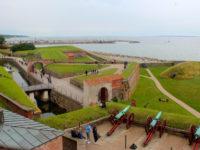 Kronborg Castle guarding the Sound, Helsingør, Denmark