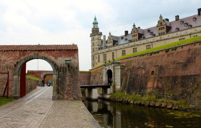 Approach to Kronborg Castle, Helsingør, Denmark