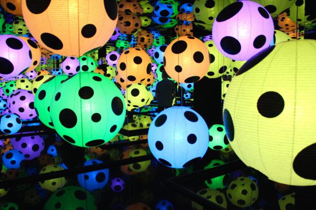 Yayoi Kusama installation, Moderna Museet, Stockholm