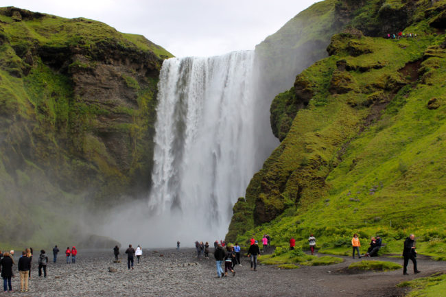 Skógafoss waterfall, South Coast of Iceland