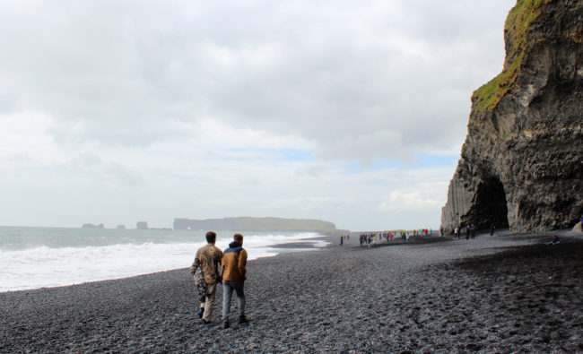 Reynisfjara black sand beach, South Coast of Iceland